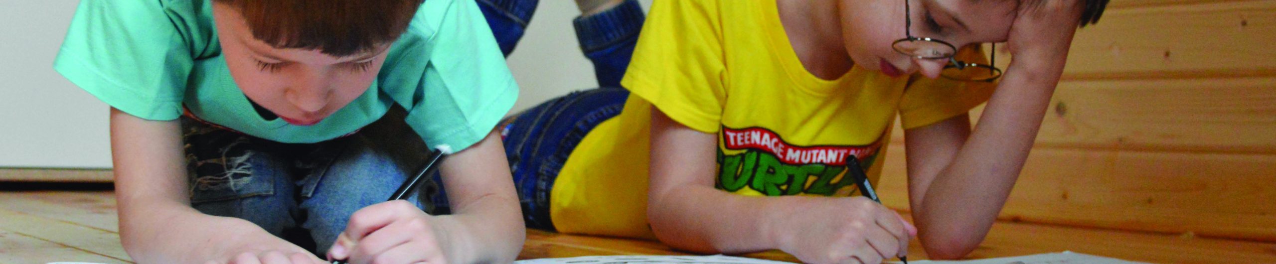 Children study drawing Early Years Conference